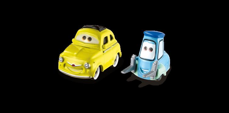 Luigi Guido Disney Cars 3 Die Cast Vehicles