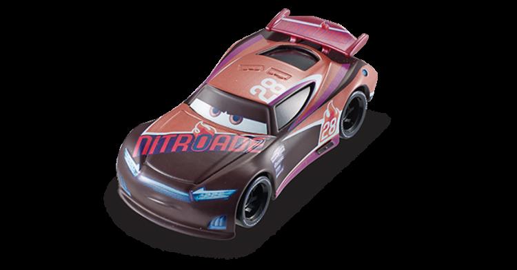 Tim Treadless Disney Cars 3 Die Cast Vehicle